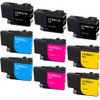 Brother LC3033 Ink Cartridge, Super High-Yield, 9-Pack