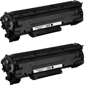 SuperInk High-Yield Compatible Toner Cartridge Replacement for Canon 125 CRG125 3484B001 to use with ImageClass LBP6030w ImageClass LBP6000 ImageClass MF3010 Printer Black, 1-Pack