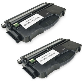 On-Site Laser Compatible Toner Replacement for Lexmark 12035SA Black E120N Works with: E120