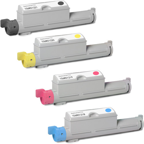 Xerox Phaser 6360 black and color set