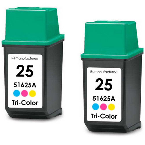 HP 25 - 51625A Color 2-pack replacement