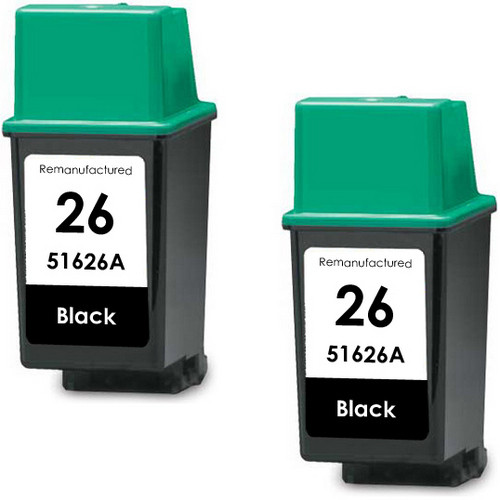 HP 26 - 51626A Black 2-pack replacement