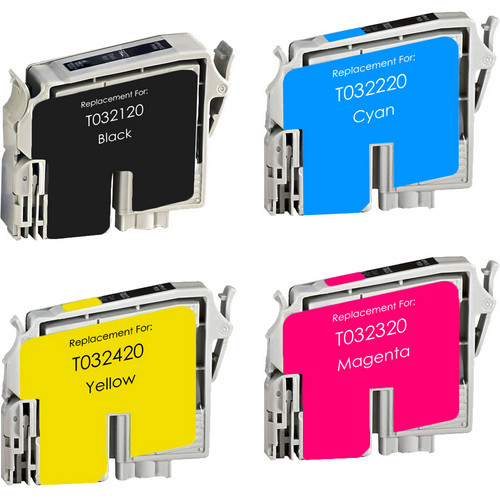 Epson T0321 Black and color Set replacement