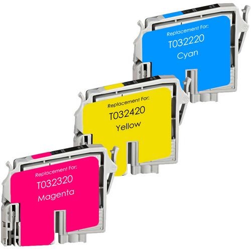 Epson T0322-T323-T324 color set replacement