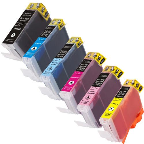 Canon BCI-6 Black-Color 6-pack
