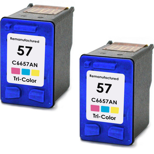 HP 57 - C6657AN Color 2-pack replacement