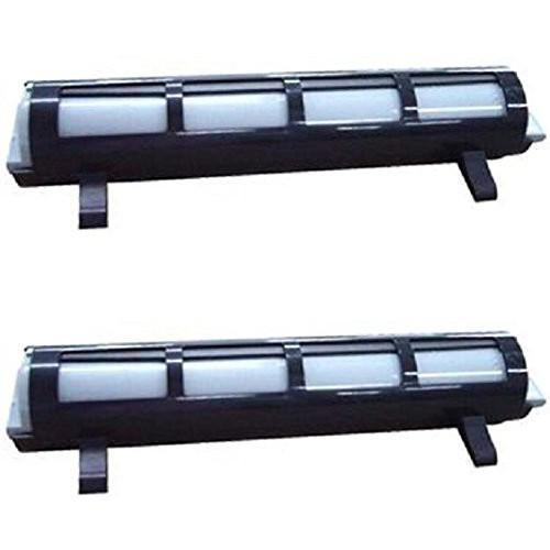 2 Pack - black toner cartridge for Panasonic KX-FA83