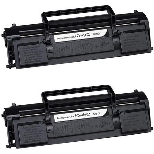 Sharp FO-45ND black toner cartridge - 2 Pack