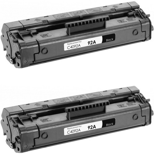 HP 92A - C4092A 2-pack replacement
