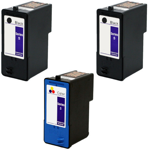 Dell series 5 Black and color cartridge Set