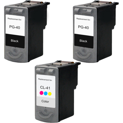 Canon PG-40 - CL-41 Set 3-Pack replacement