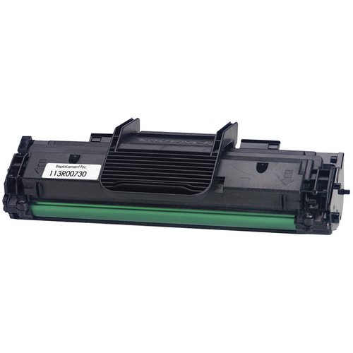 black toner cartridge replacement for Xerox 113R00730