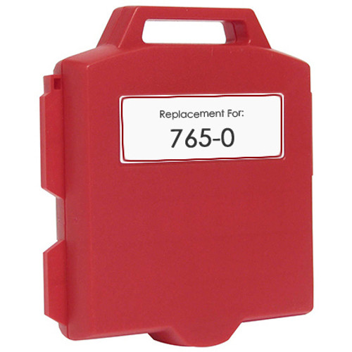 Pitney-Bowes 765-0 fluorescent red ink cartridge