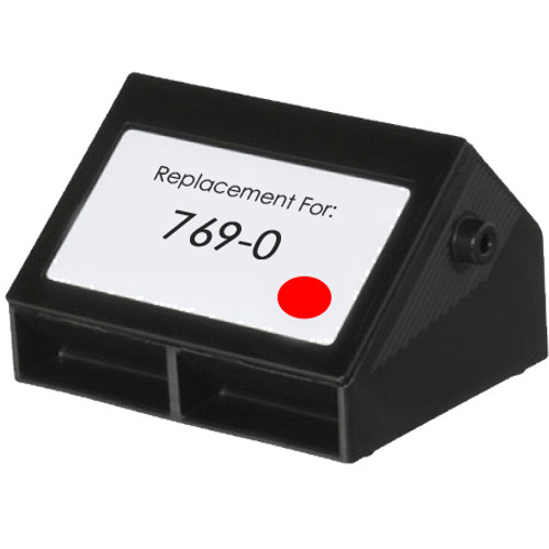 Pitney-Bowes 769-0 fluorescent red ink cartridge