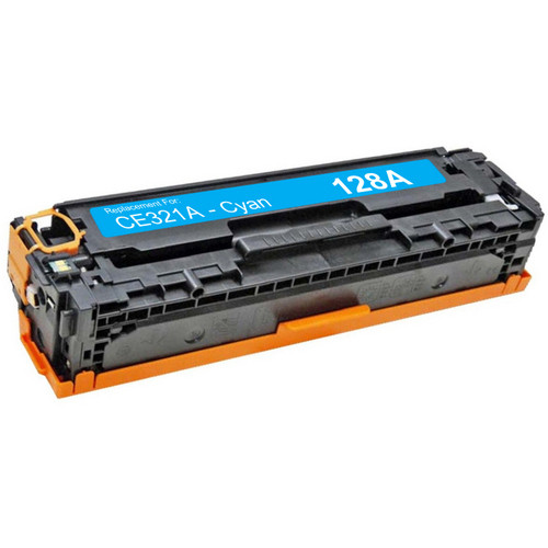 HP 128A - CE321A Cyan replacement