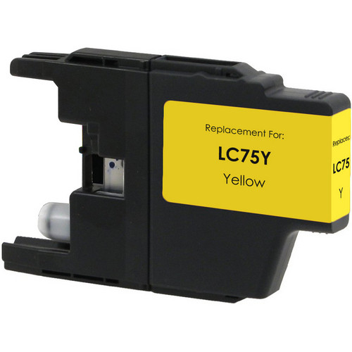 Brother LC75 Yellow replacement