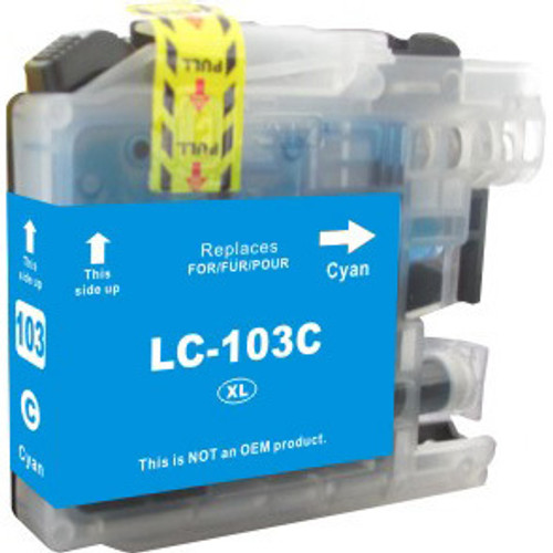 Brother LC103 Cyan replacement