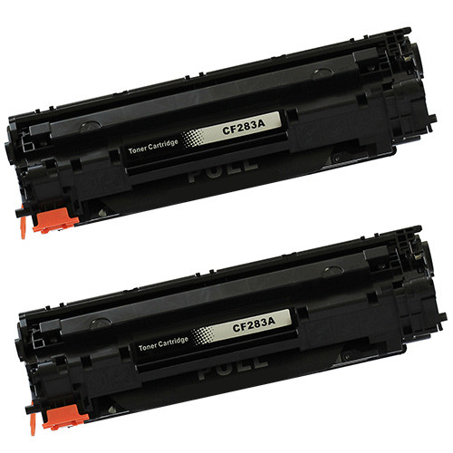 HP 83A - CF283A Black 2-Pack replacement