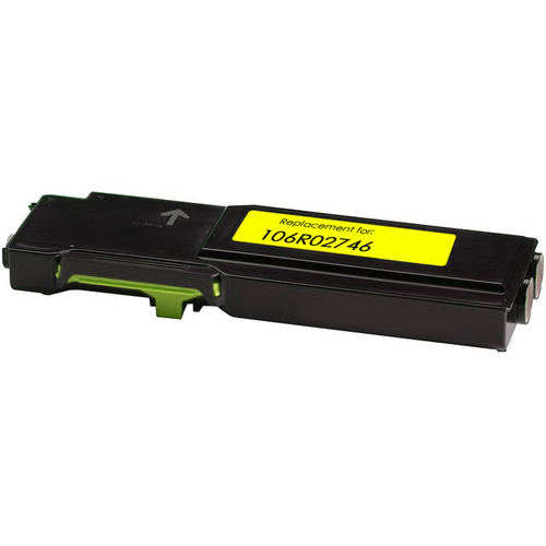 yellow toner cartridge replacement for Xerox 106R02746