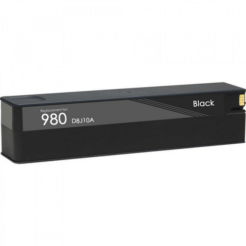 HP 980 black ink cartridge remanufactured replacement