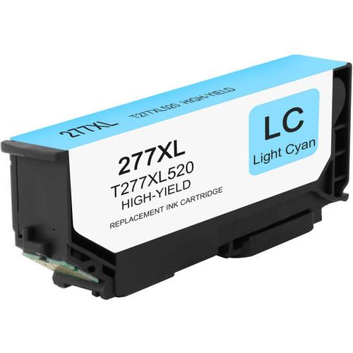 Epson 277XL Light Cyan Ink Cartridge, High Yield