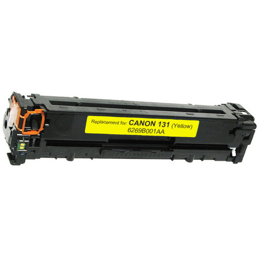 Canon 131 Toner Cartridge, Yellow (6269B001AA)