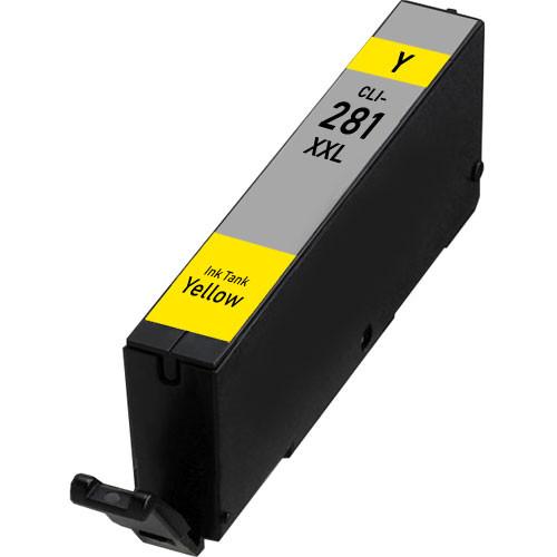 Canon CLI-281 XXL Yellow Super High-Yield Ink Cartridge (1982C001) (CLi-281 XXL Yellow)