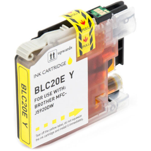 Brother LC20EY Ink Cartridge, Super High-Yield (LC20E Yellow)