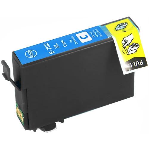 Epson 702XL Cyan Ink Cartridge, High Yield (T702XL220)