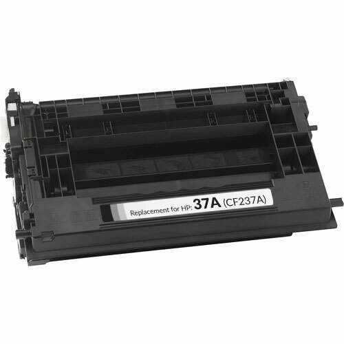 HP 37A Toner Cartridge, Black (CF237A)