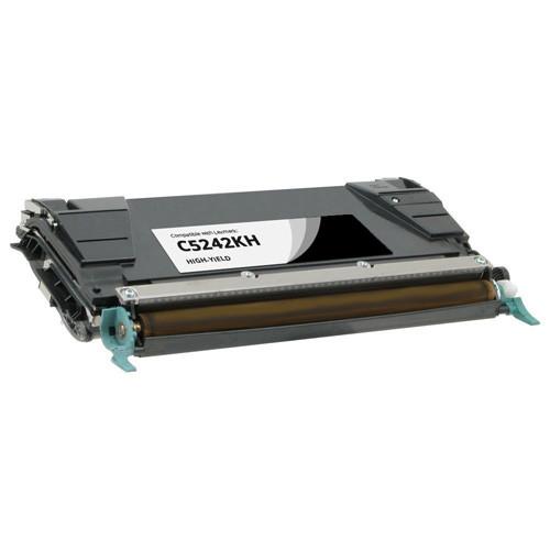 Lexmark C5242KH Black High Yield Toner Cartridge