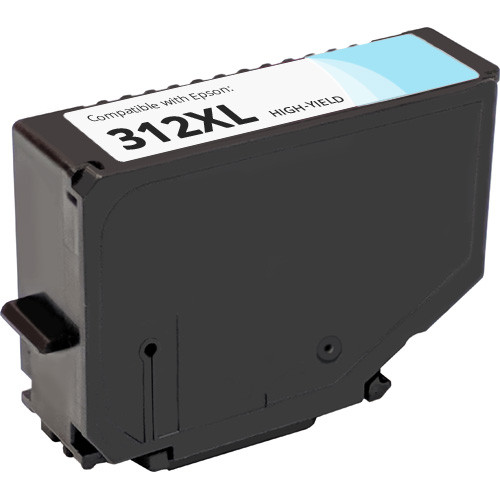 Epson 312XL Light Cyan High Yield Ink Cartridge (T312XL520)