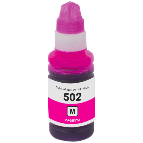 Epson 502 Magenta Ink Bottle (T502320-S)