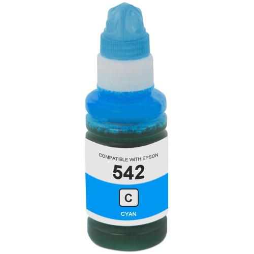Epson 542 Cyan Ink Bottle (T542220-S)