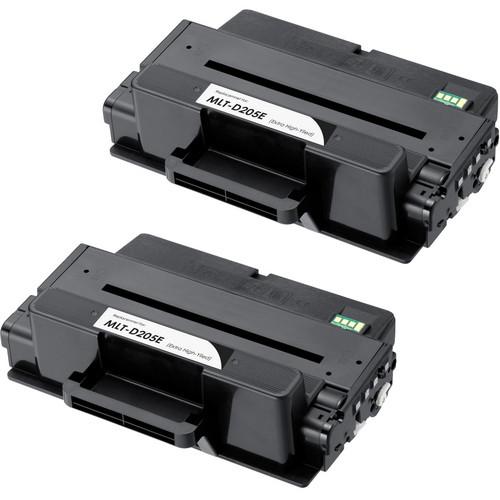 Samsung MLT-D205E Black 2-pack replacement