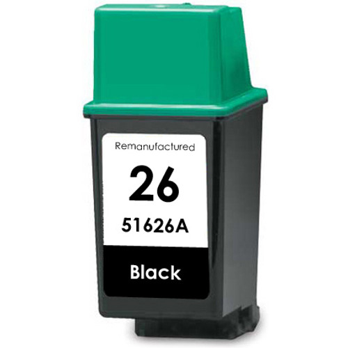 HP 26 - 51626A Black replacement