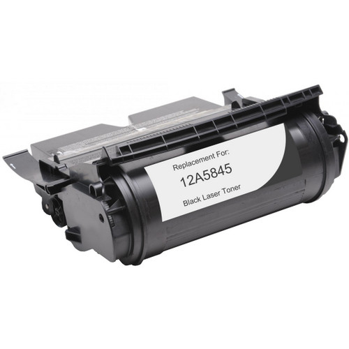Lexmark 12A5845 Black replacement