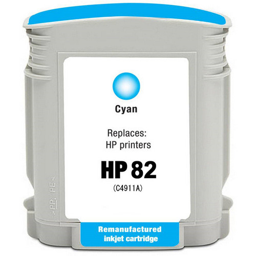 HP 82 - C4911A Cyan replacement