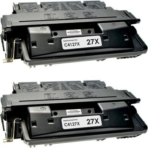 HP 27X - C4127X 2-pack replacement