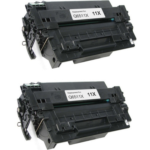 HP 11X - Q6511X 2-pack replacement