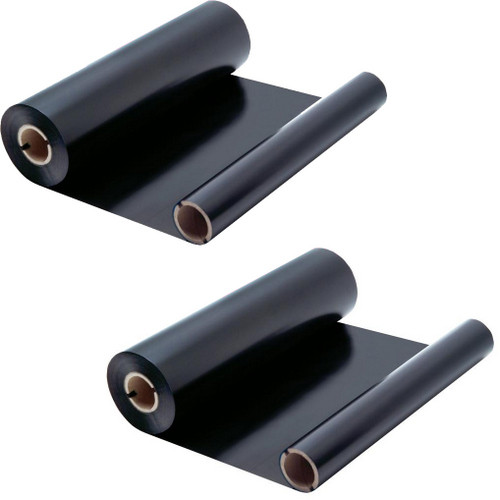 2 Pack - ribbon roll refills for Sharp UX-15CR