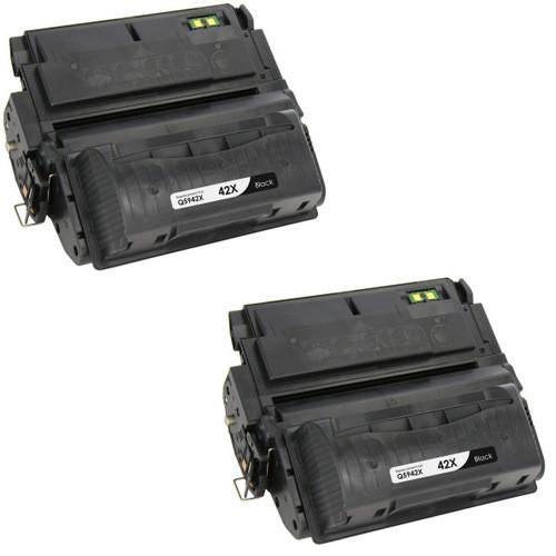 HP 42X - Q5942X Black 2-pack replacement