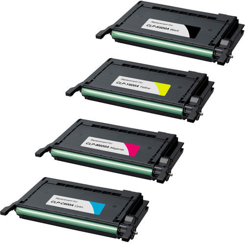Samsung CLP-600 Black and Color Set replacement