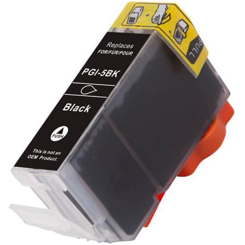 Canon PGi-5BK black ink cartridge replacement