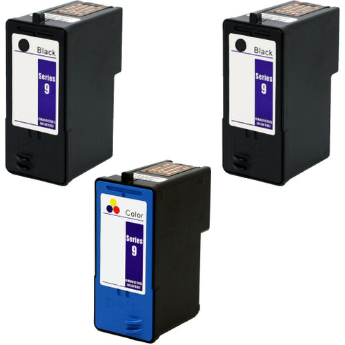 Dell Series 9 Black and color cartridge Set