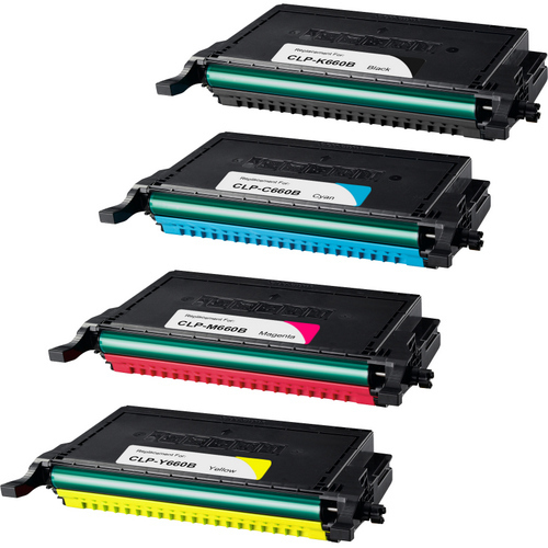 Samsung CLP-660B Set replacement