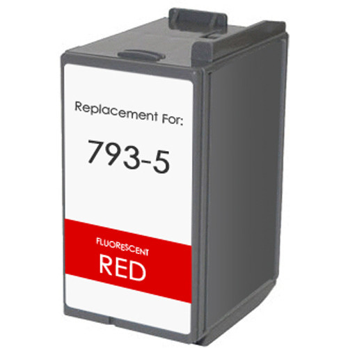 Pitney-Bowes 793-5 fluorescent red ink cartridge