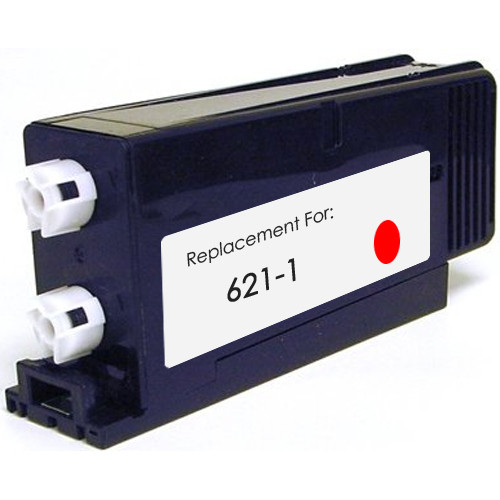 Pitney-Bowes 621-1 fluorescent red ink cartridge
