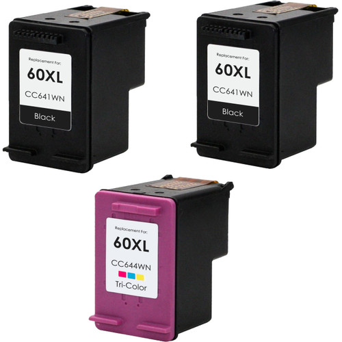 HP 60XL Black and Color Set replacement