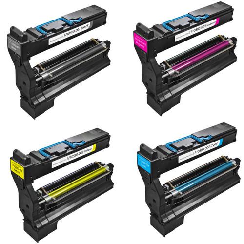 Konica-Minolta 1710580-001 black and color set
